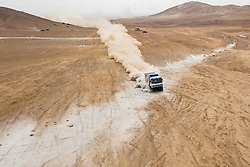 Andrey Karginov (RUS) of Team KAMAZ-Master races during stage 04 of Rally Dakar 2019 from Arequipa to o Tacna, Peru on January 10, 2019 // Marcelo Maragni/Red Bull Content Pool // AP-1Y39E75RH1W11 // Usage for editorial use only // Please go to www.redbullcontentpool.com for further information. //