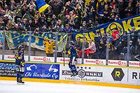 2020-01-17 | Rauma, Finland : Lukko (27) Ponthus Westerholm celebrates 3-1 goal during the game between Lukko-Kärpät in Kivikylän Areena ( Photo by: Elmeri Elo | Swe Press Photo )