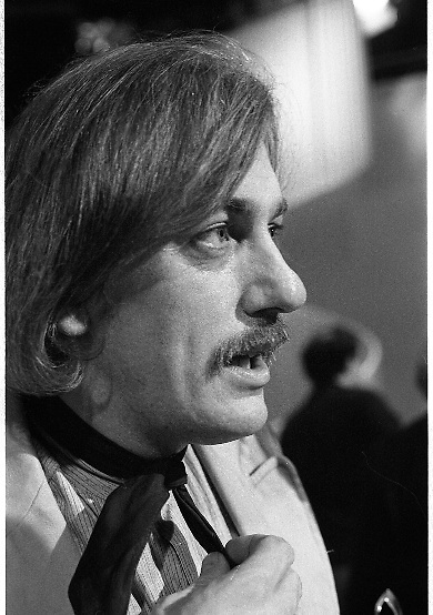1980-03-09.9th March 1980.09-09-1980.03-09-80..Photographed at RTE Montrose, Dublin..Shay Healy, who wrote the winner of the 16th National Song Competition,  What's Another Year.