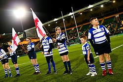 Guard of honour - Rogan/JMP - 21/02/2020 - Franklin's Gardens - Northampton, England - England U20 v Ireland U20 - Under 20 Six Nations.