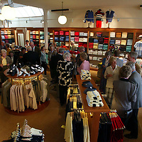 Golf St Andrews shop, a joint venture between the House of Bruar and the R&A<br /><br />Picture by Graeme Hart.<br />Copyright Perthshire Picture Agency<br />Tel: 01738 623350  Mobile: 07990 594431