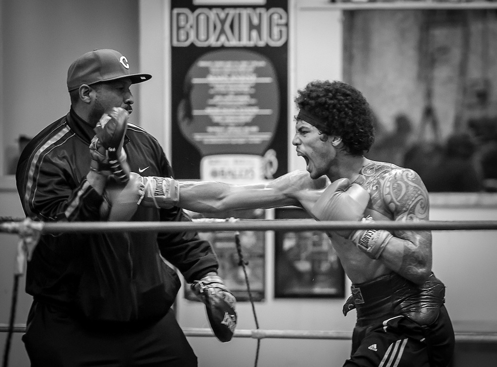 3/2/13 9:35:12 AM --- LA HABRA BOXING CLUB SPORTS SHOOTER ACADEMY 010 --- La Habra Boxing Club. Photo by Edgar Angelone, Sports Shooter Academy
