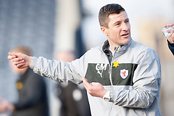 Raith Rovers Player-Coach Grant Murray.<br /> Raith Rovers 2 v 4 Falkirk, Scottish Championship game today at Starks Park.<br /> &copy; Michael Schofield.