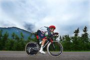 Fabio Aru (ITA - UAE Team Emirates) during the 101th Tour of Italy, Giro d'Italia 2018, stage 16, Trento - Rovereto 34.5 km on May 22, 2018 in Italy - Photo Dario Belingheri / BettiniPhoto / ProSportsImages / DPPI