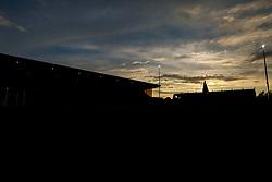 A sunset over the One Call Stadium - Mandatory by-line: Ryan Crockett/JMP - 24/07/2018 - FOOTBALL - One Call Stadium - Mansfield, England - Mansfield Town v Sheffield Wednesday - Pre-season friendly