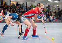 HAMBURG  (Ger) - Match 19,  for bronze , Der Club an der Alster (Ger) - Club Campo de Madrid (Esp)  Photo: Benedetta Wenzel (Alster)   Eurohockey Indoor  Club Cup 2019 Women . WORLDSPORTPICS COPYRIGHT  KOEN SUYK