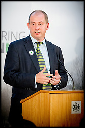 Image ©Licensed to i-Images Picture Agency. 08/07/2014. London, United Kingdom. Stephen Williams MP speaking at the Srebrenica Memorial Reception at Lancaster House. Picture by Andrew Parsons / i-Images