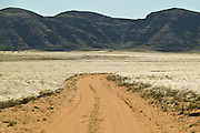 Africa, Namibia - Dirt track from Sesfontein toward remote village of Puros