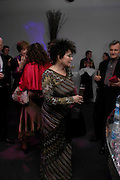 Claire Bloom, Moet champagne reception, FAST FORWARD - a fundraising event for the National Theatre,  The former Saatchi Gallery, London NW8. 24 February 2005. ONE TIME USE ONLY - DO NOT ARCHIVE  © Copyright Photograph by Dafydd Jones 66 Stockwell Park Rd. London SW9 0DA Tel 020 7733 0108 www.dafjones.com