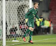 FODBOLD: Steffen Rasmussen (AGF) under kvartfinalen i DBU Pokalen mellem FC København og AGF den 7. april 2017 i Telia Parken, København. Foto: Claus Birch