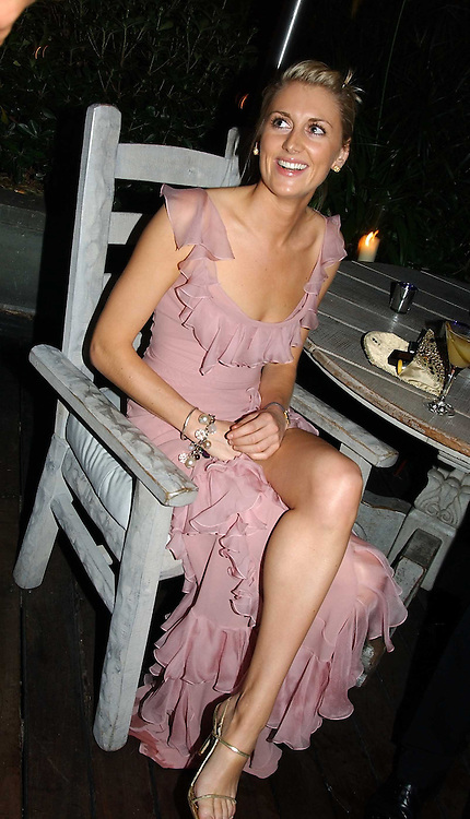 LADY EMILY COMPTON at a party at The Sanderson Hotel on 9th June 2005 to launch 50 Gramercy Park North - Ian Schrager's show-stopping new residential project in New York City. Schrager, with the help of UK architect John Pawson, is building a block of 23 original residences facing Gramercy Park, inbetween two blocks of the Gramercy Park Hotel. <br />