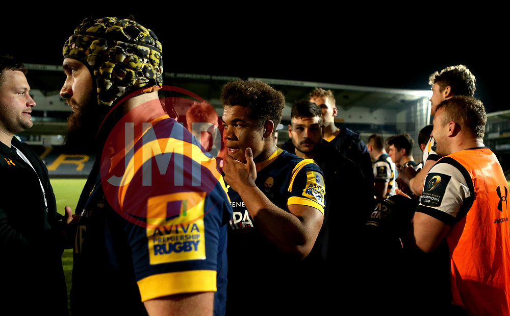 Ollie Lawrence of Worcester Cavaliers - Mandatory by-line: Robbie Stephenson/JMP - 03/04/2017 - RUGBY - Sixways Stadium - Worcester, England - Worcester Cavaliers v Wasps A - Aviva A League