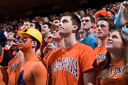 The Virginia Cavaliers Men's Basketball Team defeated the Virginia Tech Hokies 69-56 at the John Paul Jones Arena in Charlottesville, VA on March 1, 2007.