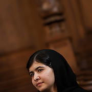 Malala Yousafzai, eduction campaigner. Malala survived an assassination attempt by members of the Taliban in October 2012. <br />