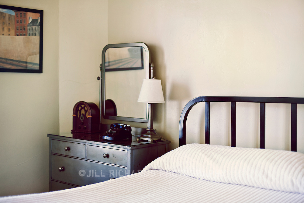 Since 1919, the historic Hotel Congress in Tucson, Arizona has been taking in weary travelers. With its no-frills rooms and Southwest Deco hand-painted lobby, Hotel Congress is a destination for tourists in Southern Arizona.