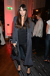LILAH PARSONS at a party to celebrate the 21st anniversary of The Roar Group hosted by Jonathan Shalit held at Avenue, 9 St.James's Street, London on 21st September 2015.