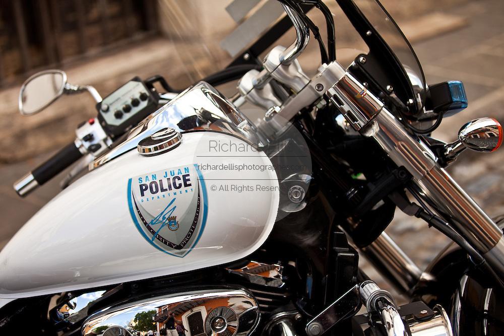San Juan police motorcycle San Juan, Puerto Rico