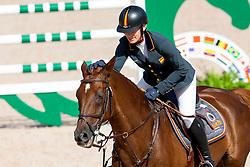 Pinedo Sendagorta Maria, ESP, Carriem van Colen Z<br /> World Equestrian Games - Tryon 2018<br /> © Hippo Foto - Sharon Vandeput<br /> 17/09/2018