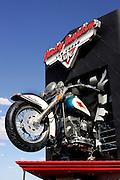 "US-LAS VEGAS: The Harley Davidson Cafe on Las Vegas Boulevard (""Thee Strip"")..PHOTO GERRIT DE HEUS"