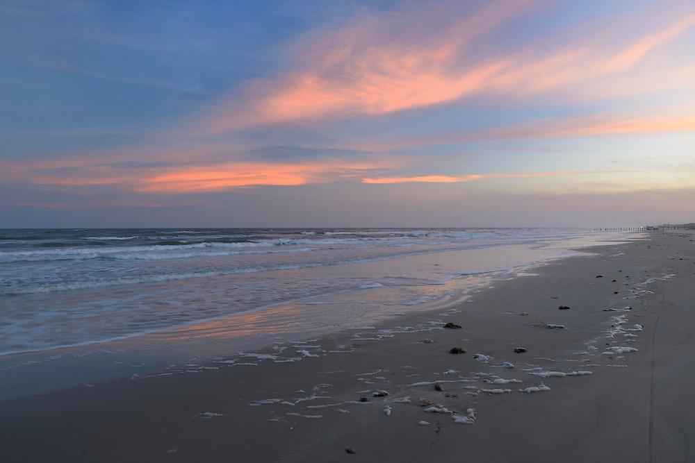 Padre Island national Seashore,North Padre Island,Corpus Christi, Texas,USA