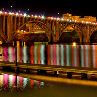 Henley Street Bridge in downtown Knoxville, Tn.