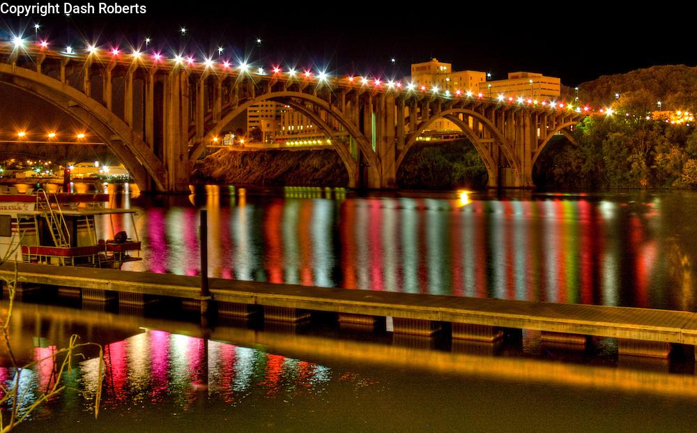 Henley Street Bridge in downtown Knoxville, Tn.