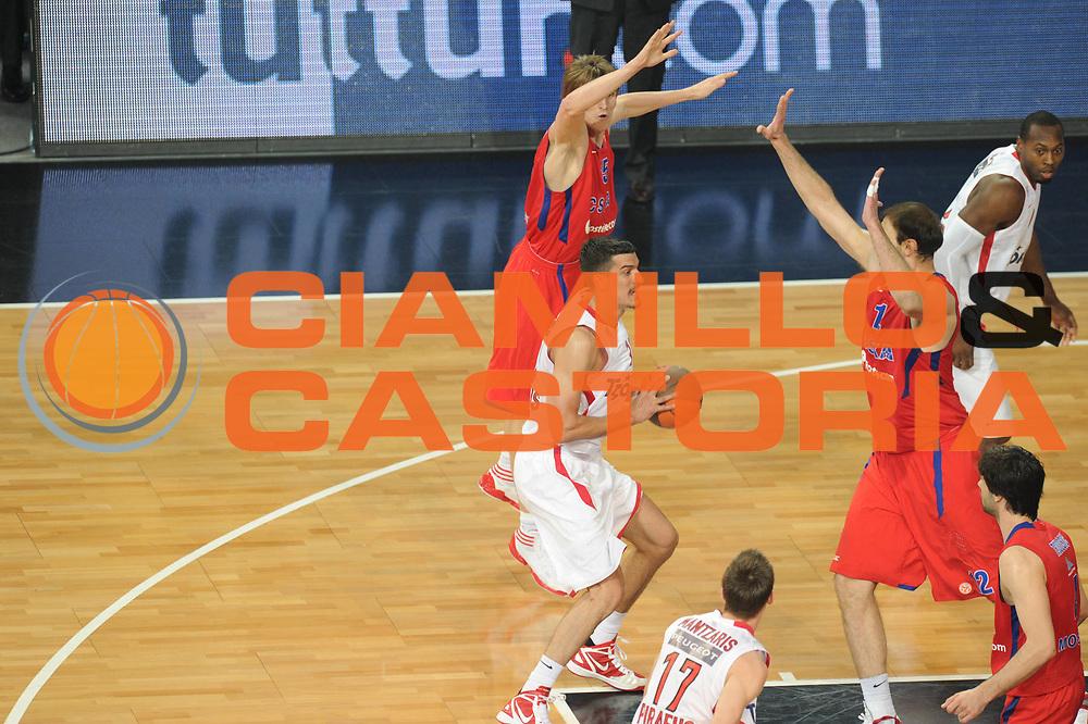 DESCRIZIONE : Istanbul Eurolega Eurolegue 2011-12 Final Four Finale Final CSKA Moscow Olympiacos<br /> GIOCATORE : Marko Keselj<br /> SQUADRA : Olympiakos<br /> CATEGORIA : difesa<br /> EVENTO : Eurolega 2011-2012<br /> GARA : CSKA Moscow Olympiacos<br /> DATA : 13/05/2012<br /> SPORT : Pallacanestro<br /> AUTORE : Agenzia Ciamillo-Castoria/GiulioCiamillo<br /> Galleria : Eurolega 2011-2012<br /> Fotonotizia : Istanbul Eurolega Eurolegue 2010-11 Final Four Finale Final CSKA Moscow Olympiacos<br /> Predefinita :