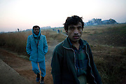 Many dye factory workers are migrants from the north and northeast of India..