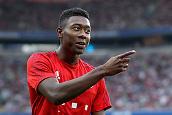 04.08.2015, Allianz Arena, Muenchen, GER, AUDI CUP, FC Bayern Muenchen vs AC Mailand, im Bild David Alaba (FC Bayern Muenchen #27) // during the 2015 AUDI Cup Match between FC Bayern Muenchen and AC Mailand at the Allianz Arena in Muenchen, Germany on 2015/08/04. EXPA Pictures © 2015, PhotoCredit: EXPA/ Eibner-Pressefoto/ Schüler<br /> <br /> *****ATTENTION - OUT of GER*****