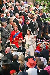 Prince WIlliam & Kate Middleton wedding, Westminster Abbey April 2011