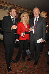 Left to right, MICHAEL & JULIE BLACK and NEIL DURDEN-SMITH at a tribute lunch for Elaine Paige hosted by the Lady Taverners at The Dorchester, Park Lane, London on 13th November 2007.<br /><br />NON EXCLUSIVE - WORLD RIGHTS