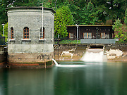 Gatehouse 1 and Dosing House at Reservoir 1, one of three open reservoirs at Mount Tabor Park and of five total in Portland.  The 3 open reservoirs in Mount Tabor Park, with their ancillary structures, were placed in the National Register of Historic Places on January 15, 2004.  Environmental Protection Agency (EPA) regulation: Long Term 2 Enhanced Surface Water Treatment Rule, referred to as the LT2 rule imposes new requirements that open water reservoirs be covered, buried or additionally treated.  This applies to Portland's five open reservoirs and to the unfiltered Bull Run source supplying them. Mount Tabor Park, Portland, Oregon, USA.