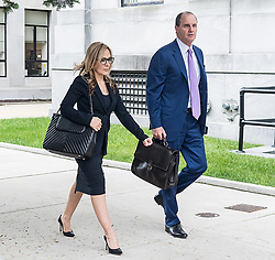 Bill Cosby arrives on day-3 of his sexual assault trial at Montgomery County Courthouse in Norristown, PA accompanied by actress Sheila Frazier and her husband John Atchison. 07 Jun 2017 Pictured: Angela Agrusa, Brian McMonagle. Photo credit: MEGA TheMegaAgency.com +1 888 505 6342
