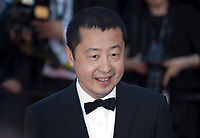Director Zhangke Jia at the Ash Is The Purest White (Jiang Hu Er Nv) gala screening at the 71st Cannes Film Festival, Friday 11th May 2018, Cannes, France. Photo credit: Doreen Kennedy