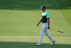 August 9, 2018 - St. Louis, Missouri, United States - Jordan Spieth walks off the green during the first round of the 100th PGA Championship at Bellerive Country Club. (Credit Image: © Debby Wong via ZUMA Wire)