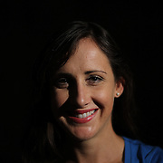 A portrait of Shannon Rowbury, USA, 1500m runner at the Adidas Grand Prix Press Conference, Hyatt Grand Central, New York ahead of the Adidas Grand Prix at Icahn Stadium, Randall's Island. Manhattan, New York. 24th May 2012. Photo Tim Clayton