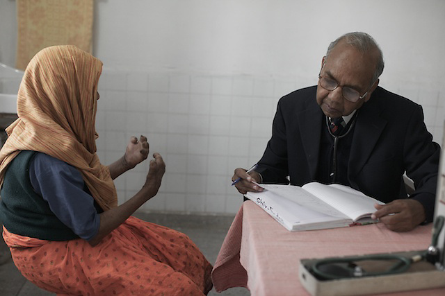 Sometimes referred to as, 'The Separating Sickness' Leprosy currently affects approximately a quarter of a million people throughout the world, with over 50% of these cases occurring in India.