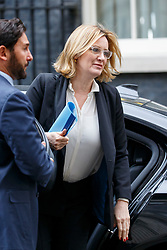 © Licensed to London News Pictures. 14/03/2017. London, UK. Home Secretary AMBER RUDD attends a cabinet meeting in Downing Street, London on Tuesday, 14 March 2017. Photo credit: Tolga Akmen/LNP