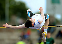 21 Aug 2016: Eoin Keenan, from Laois.  Boys U16 High Jump final.  2016 Community Games National Festival 2016.  Athlone Institute of Technology, Athlone, Co. Westmeath. Picture: Caroline Quinn