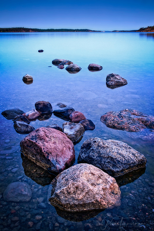 Stones in the Farstanäs archipelago in Järna in the mid-east of Sweden.