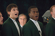 "18414Academic & Research Center Groundbreaking September 29, 2007..Musical performance from ""Section 8"" ..Charles Stuckey"