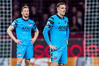 AMSTERDAM - 05-04-2017, Ajax - AZ, Stadion Arena, teleurstelling, AZ speler Rens van Eijden, AZ speler Mats Seuntjens na de 1-0