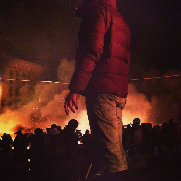 I'm back in #kyiv, watching it burn, Feb. 18, 2014. #ukraine #euromaidan #евромайдан #київ #україна #primecollective