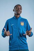 Portrait of Brazilian soccer player Ramires of Jiangsu Suning F.C. for the 2017 Chinese Football Association Super League, in Nanjing city, east China's Jiangsu province, 27 February 2017.