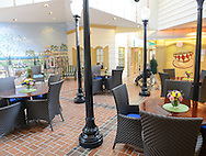 Spring Village Floral Vale's lounge area August 19, 2015 in Yardley, Pennsylvania. (Photo by William Thomas Cain)