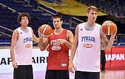 DESCRIZIONE : Berlino EuroBasket 2015 - allenamento<br /> GIOCATORE : Amedeo Della Valle Andrea Cinciarini Achille Polonara<br /> CATEGORIA : allenamento<br /> SQUADRA : Italia Italy<br /> EVENTO : EuroBasket 2015<br /> GARA : Berlino EuroBasket 2015 - allenamento<br /> DATA : 03/09/2015<br /> SPORT : Pallacanestro<br /> AUTORE : Agenzia Ciamillo-Castoria/R.Morgano<br /> Galleria : FIP Nazionali 2015<br /> Fotonotizia : Berlino EuroBasket 2015 - allenamento