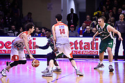 Della Valle Amedeo<br /> Grissin Bon Reggio Emilia - Sidigas Avellino<br /> Lega Basket Serie A 2017/2018<br /> Reggio Emilia, 20/01/2018<br /> Foto A.Giberti / Ciamillo - Castoria