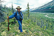 First Nation Yukon hunter and oufitting guide.