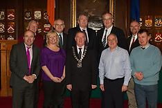 Association of County City Councils  in the Mansion House with the Lord Mayor