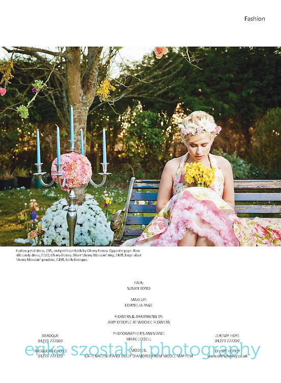Publication: Absolute Brighton magazine, April 2013<br />